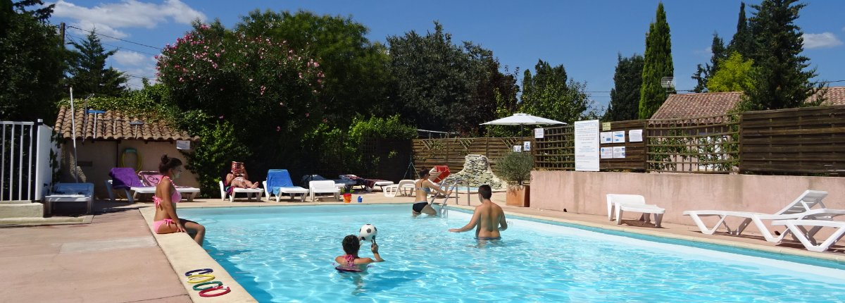 Camping l 39 olivier au coeur du gard camping familial for Camping dans le gard avec piscine